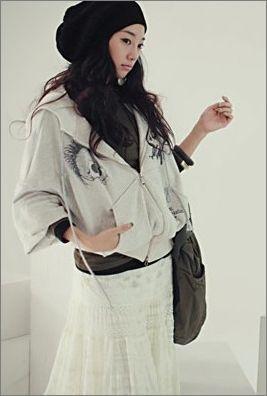 韩国美女入冬新造型 用帽子来提升时尚感